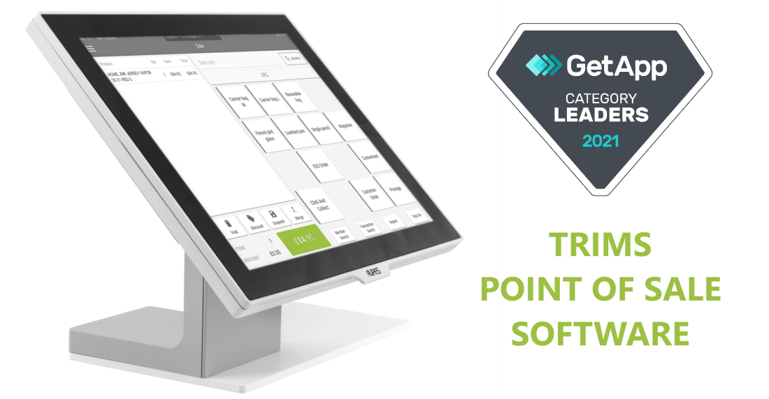 TRIMS Named as Category Leader for Point of Sale Software