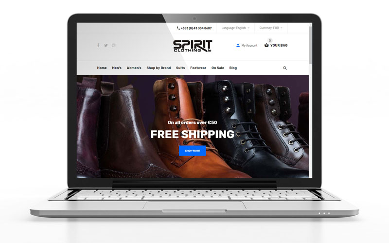 One of Ireland's top fashion retailers integrate their retail system with Shopify