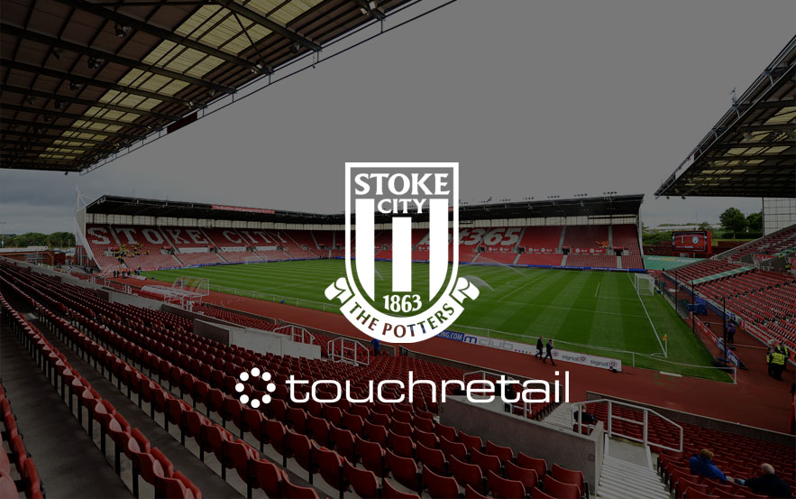 Touchretail appointed as Stoke City F.C.'s  EPOS and Inventory Management partner