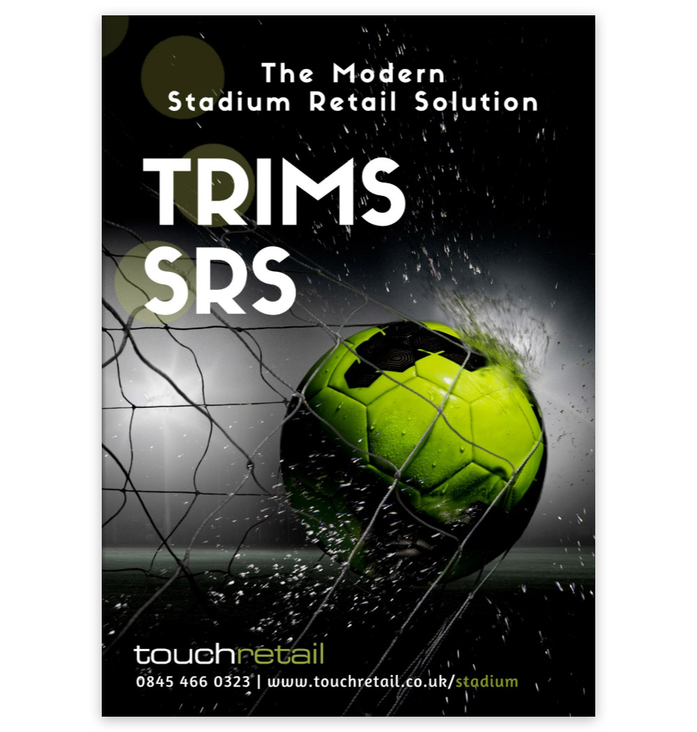 Touchretail Publish TRIMS-SRS 'Stadium Retail Solution' Brochure