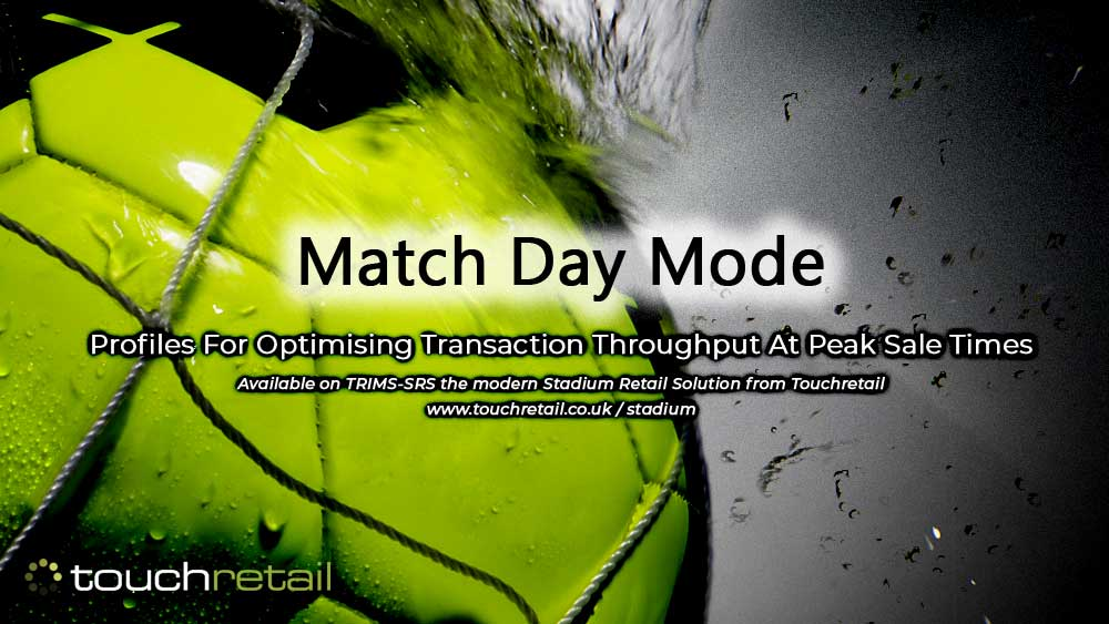 Match Day Mode profile feature now available on TRIMS-SRS