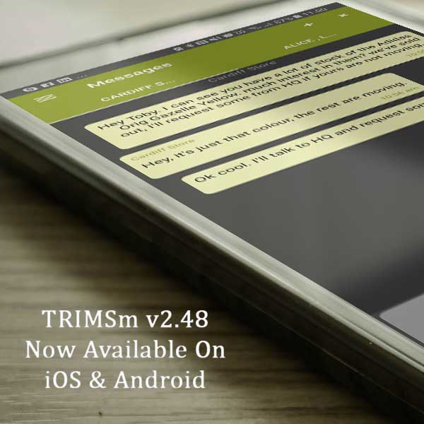 TRIMSm v2.48 Now Available on iOS and Android