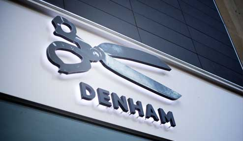 Flagship UK store for premium denim label Denham launches with TRIMS