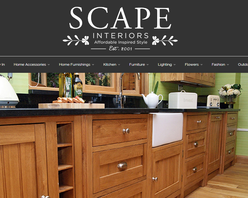 Scape Interiors integrate eCommerce using the TRIMS API