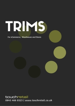 TRIMS Omnichannel Brochure